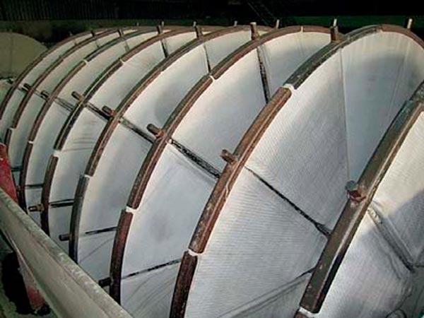 Фильтровальные чехлы для вакуум-фильтров дискового типа 1